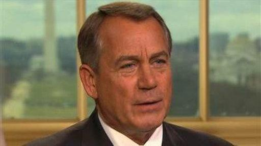 Boehner: Obama Doesn't Have a Plan