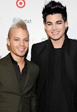 Adam Lambert and Sauli Koskinen | Photo Credits: Cindy Ord/Getty Images
