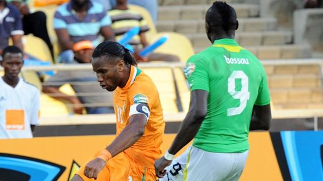 FOOTBALL CAN 2013 Cote d'Ivoire-Togo (Drogba)
