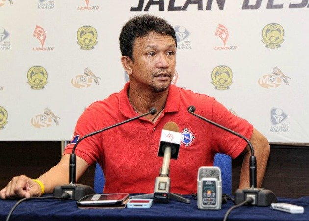 Fandi Ahmad is currently the coach of Johor FA (Photo courtesy of LionsXII)