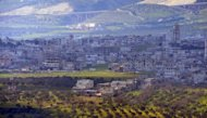 A general view shows the Syrian city of Jisr al-Shughur on February 2, 2013. In recent months Ahrar al-Sham has begun unleashing its fighters across the battlefronts, especially in Idlib where they played a leading role in advances around the city of Jisr al-Shughur