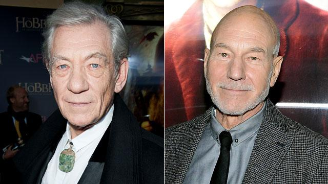 Ian McKellen Officiating Patrick Stewart's Wedding