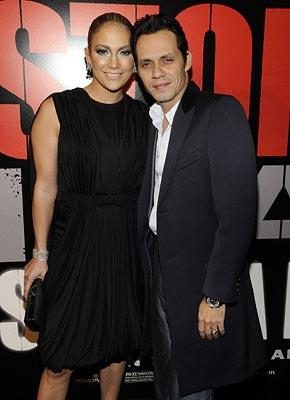 Jennifer Lopez and Marc Anthony at the New York City premiere of Paramount Classics' Shine a Light – 03/30/2008 Photo: Kevin Mazur, WireImage.com