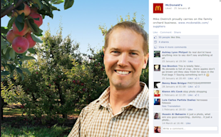 How Restaurants Can Use Social Media Effectively image Mcdonalds