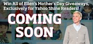 Exclusively for First-Time Pregnant Moms-to-Be: How to Win Ellen's Mother's Day Prizes!