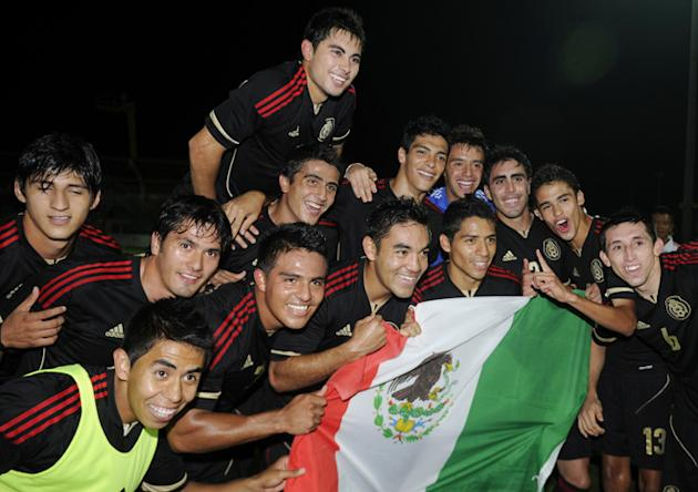 Mexico's Players AFP/Getty Images