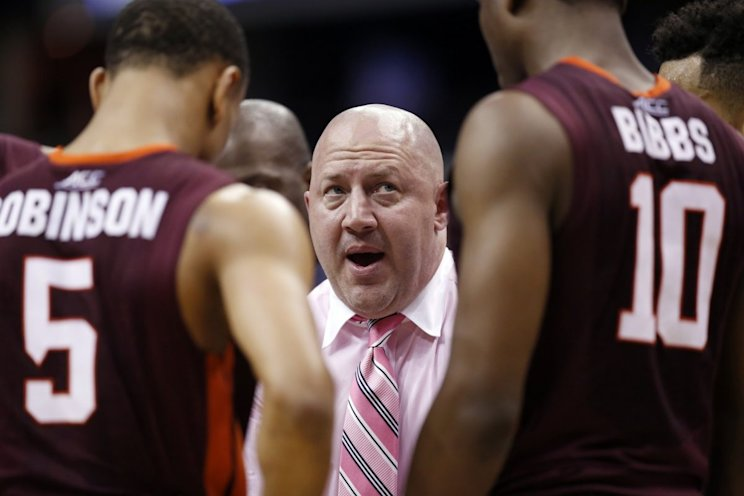 Buzz Williams could be poised for a breakthrough season at Virginia Tech (AP)