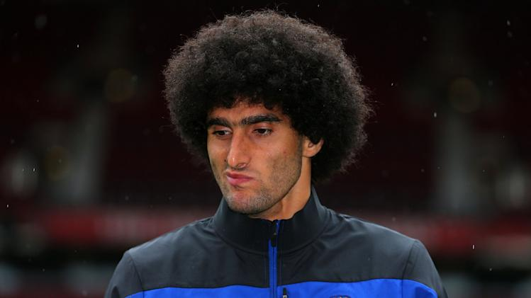 Soccer - Barclays Premier League - Manchester United Press Conference - Marouane Fellaini Unveiling - Old Trafford