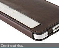 Skech Lisso Book Case For iPhone 5 Review image Credit card slots thumb