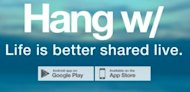 Hang W/ App Live Video Broadcasting Review image 12 25 2013 9 12 22 AM