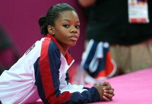 Gabby Douglas and her hair