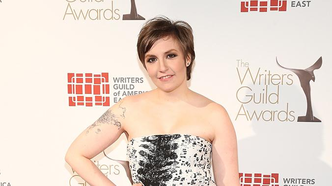 Lena Dunham - Writers Guild Awards