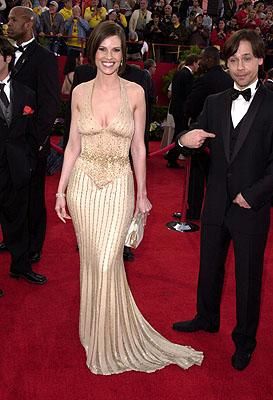 Hilary Swank and Chad Lowe 73rd Academy Awards Los Angeles, CA  3/25/2001