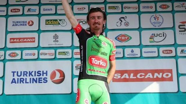 Cycling - Sayar leads in Turkey after stunning stage six solo summit win