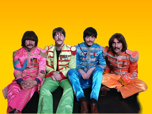 The Bootleg Beatles show set consists of a range of four costumes that come from four key eras in music from The Fab Four. (Photo courtesy of BASE Entertainment Asia)
