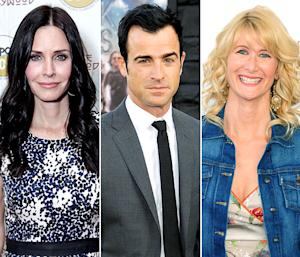Justin Theroux Dined With Jennifer Aniston's BFF Courteney Cox Shortly Before Proposing