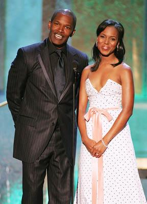 Jamie Foxx and Kerry Washington Screen Actors Guild Awards - 2/5/2005