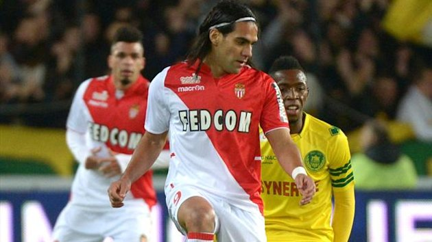 FOOTBALL 2013 Nantes - Monaco (Falcao)