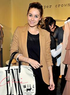 Lauren Conrad Resolves to Organize Her Closet in 2012