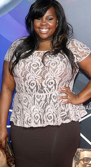 """Glee"" star Amber Riley (WireImage)"