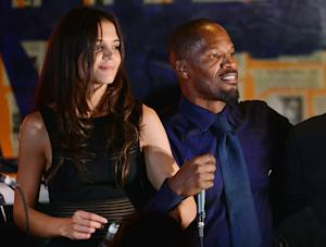 "Katie Holmes Rejected Jamie Foxx After He ""Grabbed Her Butt"" at Party"