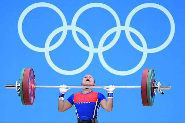 Olympics Day 1 - Weightlifting