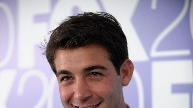 "James Wolk (""Lonestar"") attends the 2010 Fox Upfront after party at Wollman Rink, Central Park on May 17, 2010 in New York City."
