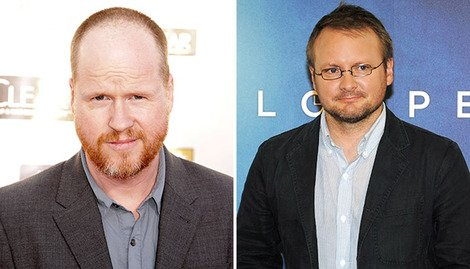 Joss Whedon and Rian Johnson