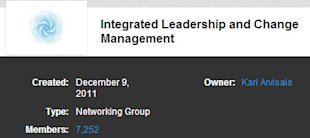 5 Awesome Leadership LinkedIn Groups You Probably Aren't Following image Integrated Leadership and Change Managementjpg