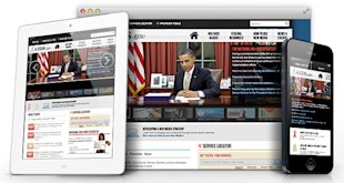 10 Examples Of Inspiring Responsive Web Design image aids gov rwd