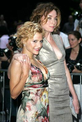 Premiere: Brittany Murphy and Julianne Nicholson at the New York premiere of Revolution Studio's Little Black Book - 7/21/2004