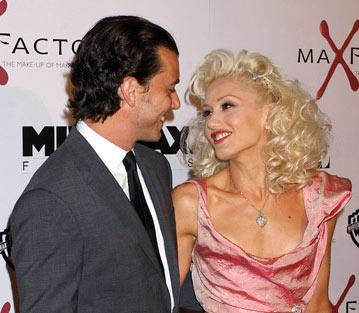 Gavin Rossdale and Gwen Stefani at the Hollywood premiere of Miramax Films' The Aviator