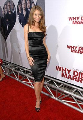 Rebecca Gayheart at the Hollywood premiere of Lionsgate Films' Tyler Perry's Why Did I Get Married?