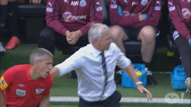 Pardew hit with two-match ban for shove