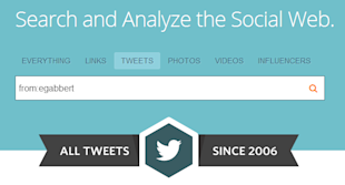 Find Your Old Tweets: How to Find Your First (Worst?) Tweet image find first tweet with topsy