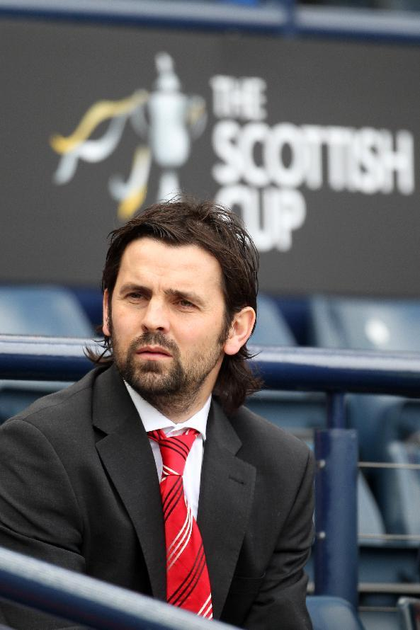 Paul Hartley's Alloa face Rangers in the William Hill Scottish Cup