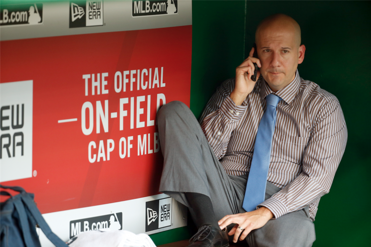 Braves GM John Coppolella's Twitter Q&A didn't go as planned. (AP Photo)