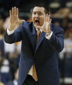 Donnie Tyndall was fired 11 months after being hired by Tennessee. (AP)
