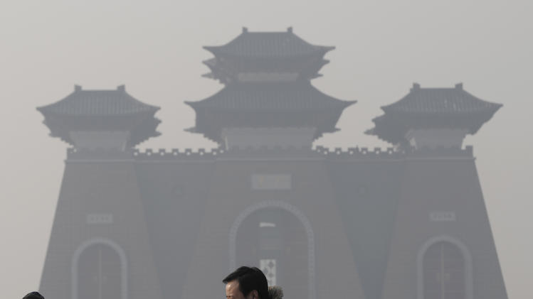 China air pollution