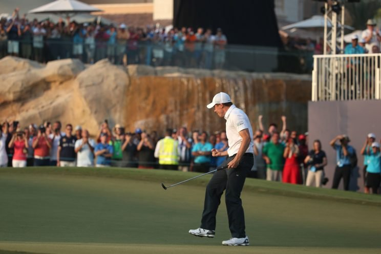 Matt Fitzpatrick took the title home in Dubai. (Getty Images)