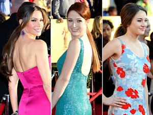 SAG Awards 2012's Biggest Beauty Trend: Ponytails!