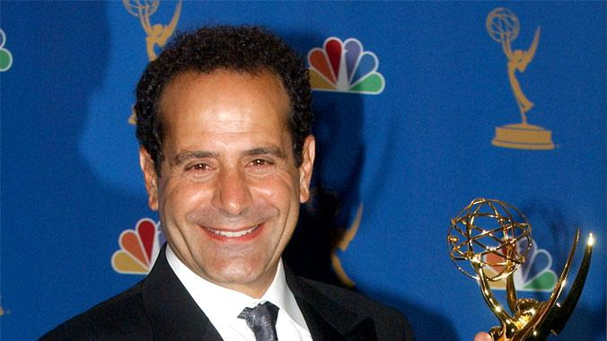"Tony Shalhoub, winner of Outstanding Lead Actor in a Comedy Series for ""Monk"" at The 58th Annual Primetime Emmy Awards."