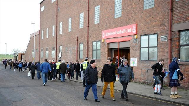 Scottish Premiership - Dons re-open talks over new stadium