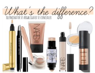 illuminators vs concealers vs highlighters