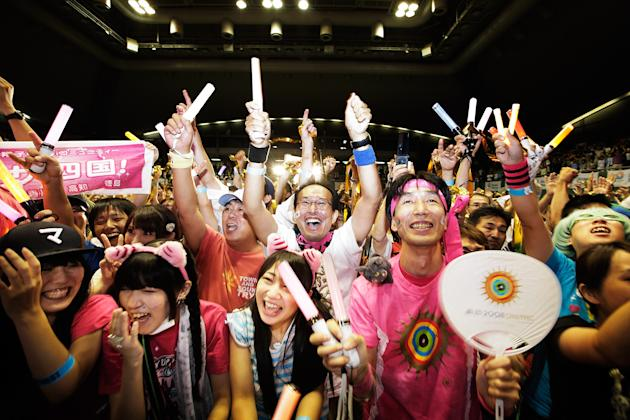 People React to 2020 Olympic Host Announcement in Japan