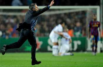 Mourinho set to break record for Champions League semifinals