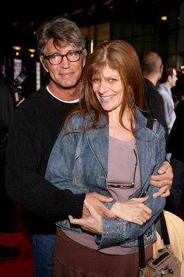 Eric Roberts and Eliza Roberts at the LA premiere of Universal's American Dreamz