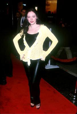 Premiere: Rose McGowan at the Hollywood premiere of Disney's The Straight Story - 10/11/1999