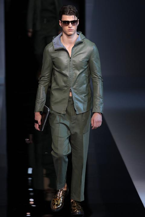 Emporio Armani: Runway - Milan Fashion Week Menswear Spring/Summer 2013