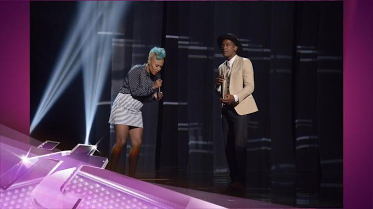Entertainment News Pop: Emeli Sande Sings Her Heart Out With Labrinth on America's Got Talent!